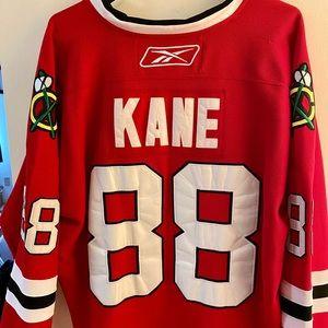 Reebok Chicago Blackhawks Kane Jersey Size 52